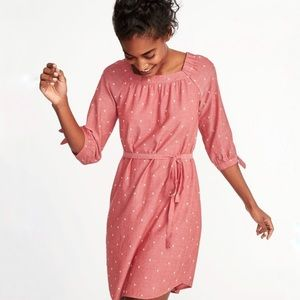 Old navy long sleeve clip for square neck dress